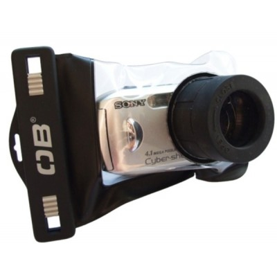Over Board Waterproof Zoom Lens Camera Case