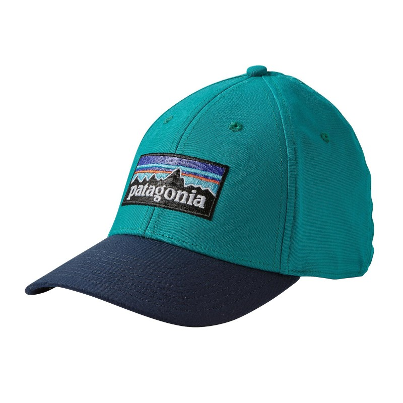 Patagonia P-6 Logo Stretch Fit Hat - Alpin Action 935ae631850