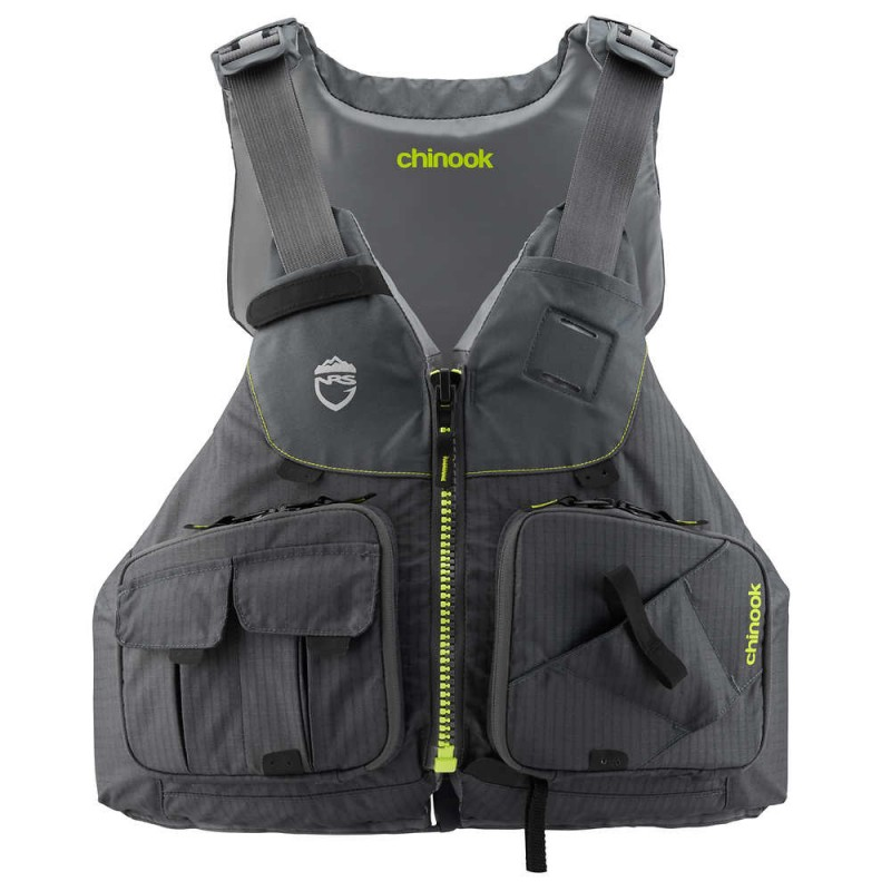 NRS Chinook Fishing PFD - CE/ISO Approved
