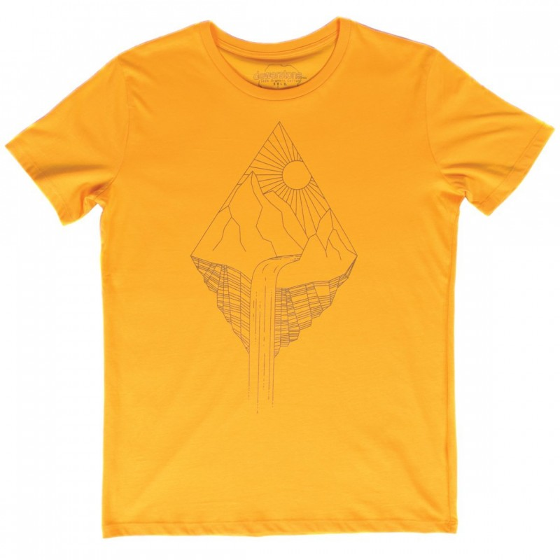 Dewerstone Waterfall  T Shirt