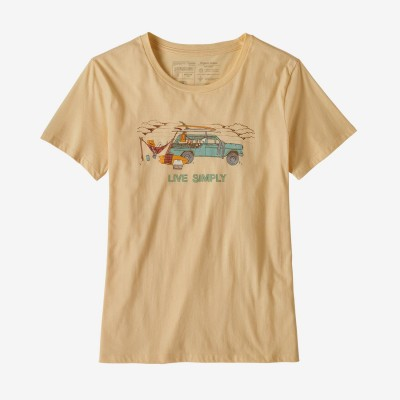 W's Live Simply Lounger Organic Crew TShirt