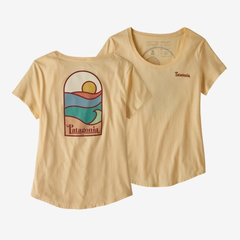 Patagonia Women's Sunset Sets Organic Cotton Scoop T-Shirt