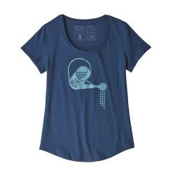 Patagonia Women's Eat Local Rain Can Organic Cotton Scoop T-Shirt