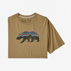 Patagonia Men's Fitz Roy Bear Organic Cotton T-Shirt