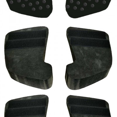 Contour Ergo Bulkhead Foot Pads