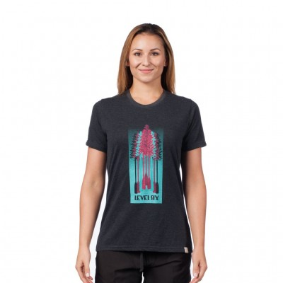 Level Six Women's Tree Paddles T-Shirt