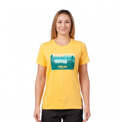 Level Six Women's Lake Print T-Shirt